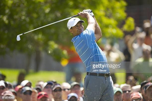 US Open Tiger Woods in action on Thursday at Torrey Pines GC La Jolla CA 6/12/2008 CREDIT John Biever