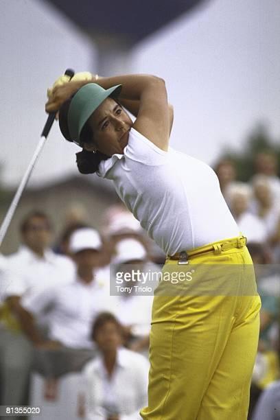 Golf US Women's Open Nancy Lopez in action on Saturday at Hazeltine CC Chaska MN 7/23/1977