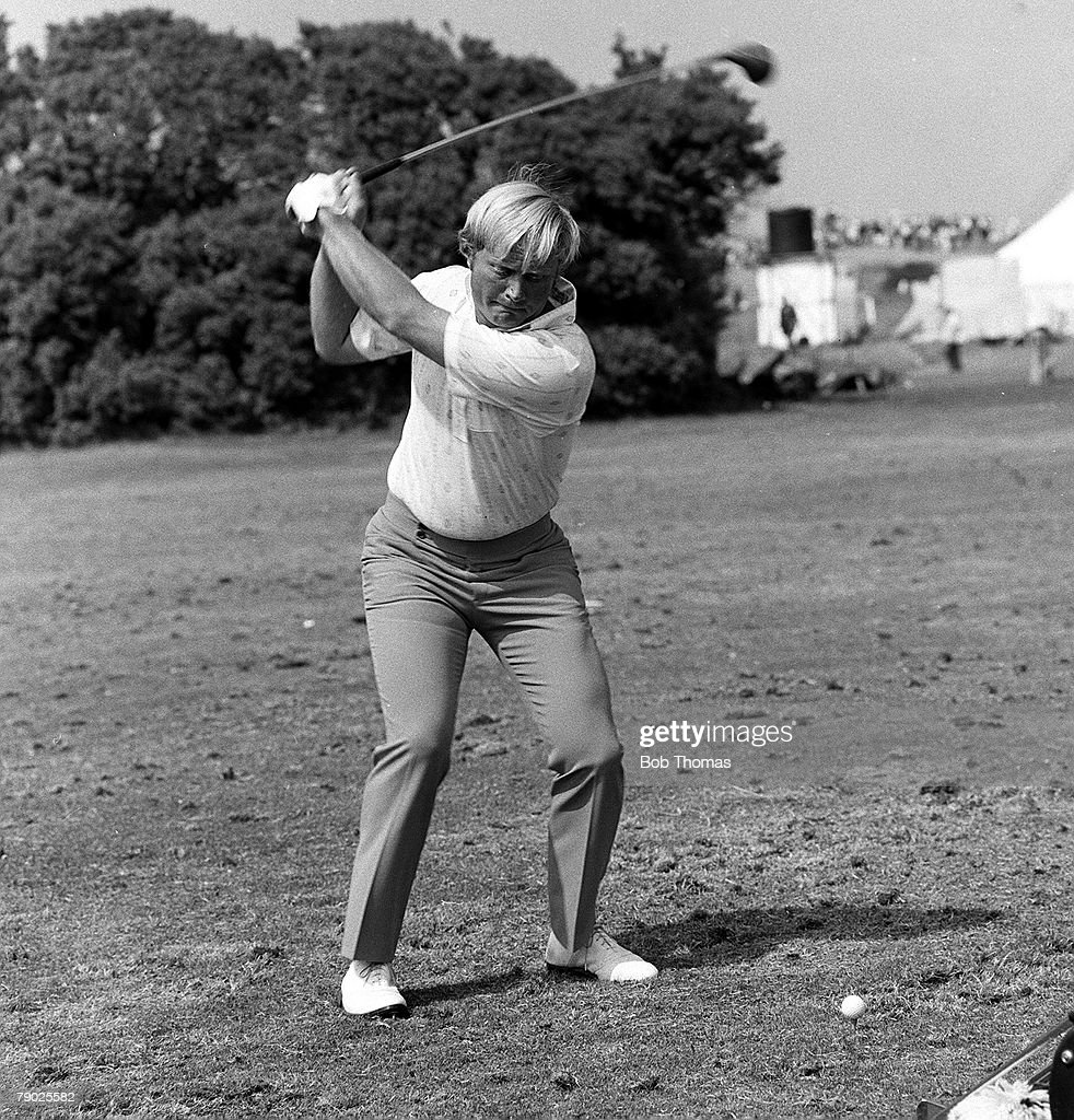 Golf. U.S.A. golfing legend Jack Nicklaus. Circa 1970. : News Photo