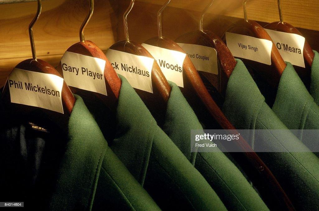 Green Jacket at Augusta National : News Photo