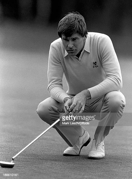 Golf - Wentworth, Nick Faldo.