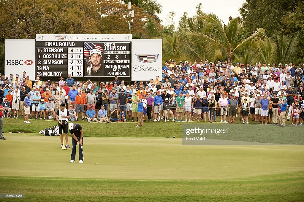 2015 Wgc Cadillac Championship Final Round Pictures Getty Images