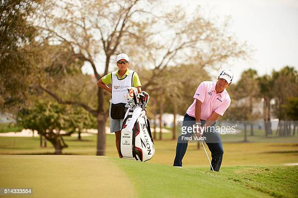WGC Cadillac Championship Hideki Matsuyama in action during Friday play at TPC Blue Monster Course of Trump National Doral Miami Doral FL CREDIT Fred...