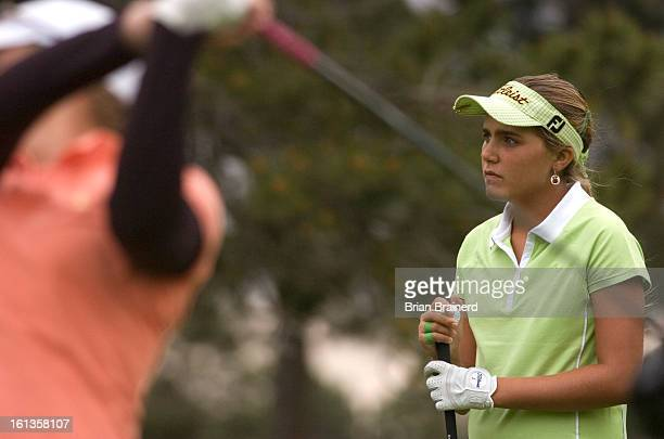 golf12 EVERGREEN CO JUNE 12 2007 Twelveyearold Alexis Thompson of Coral Springs Fla the youngest player to ever qualify for the US Women's Open in...