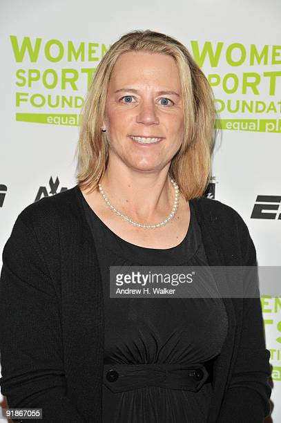 Golfer Annika Sorenstam attends the 30th Annual Salute To Women In Sports Awards at The Waldorf=Astoria on October 13 2009 in New York City