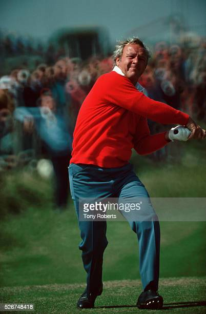 PGA Golfer Arnold Palmer at the British Open