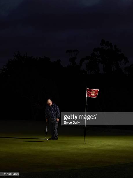 Golfer Billy Casper is photographed for Golf Digest on March 21 2012 i San Diego California
