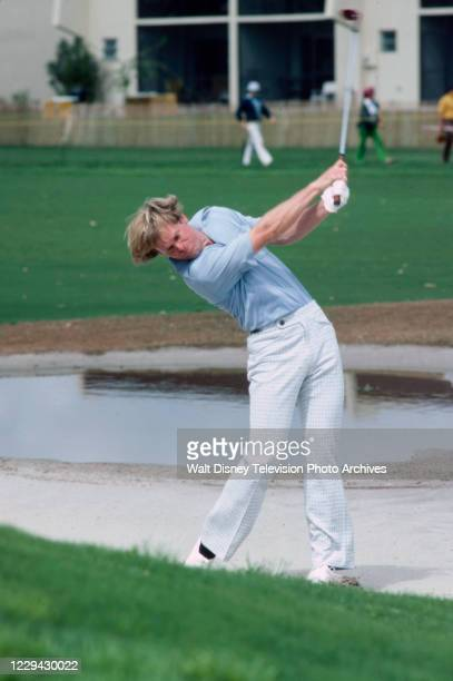 Golfer competing in the 1976 Tournament Players Championship, at Inverray Country Club.