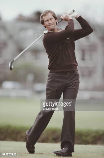 Golfer Dale Hayes of South Africa circa May 1979 United Kingdom