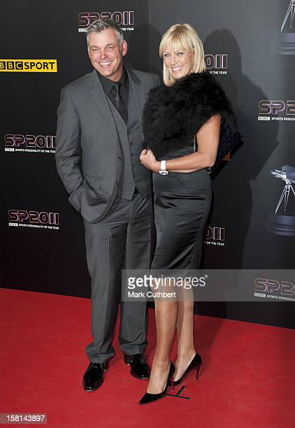 Golfer Darren Clarke With His Partner Alison Campbell Arriving For The Sports Personality Of The Year Awards 2011, At Mediacityuk, Salford,...