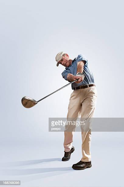 Golfer in Studio