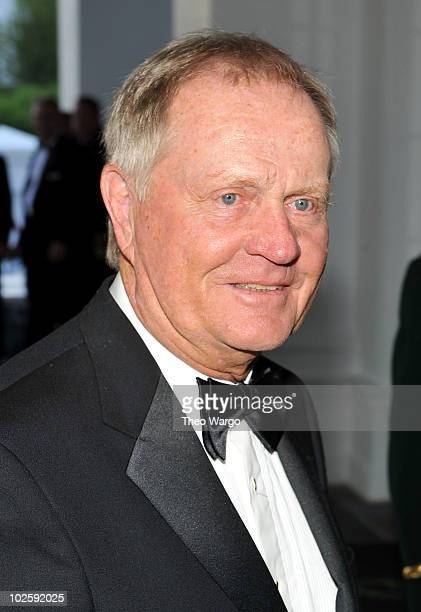 Golfer Jack Nicklaus attends The Greenbrier for the gala opening of the Casino Club on July 2 2010 in White Sulphur Springs West Virginia