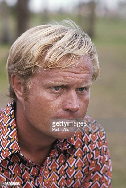 Golfer Jack Nicklaus poses for a portrait in 1966