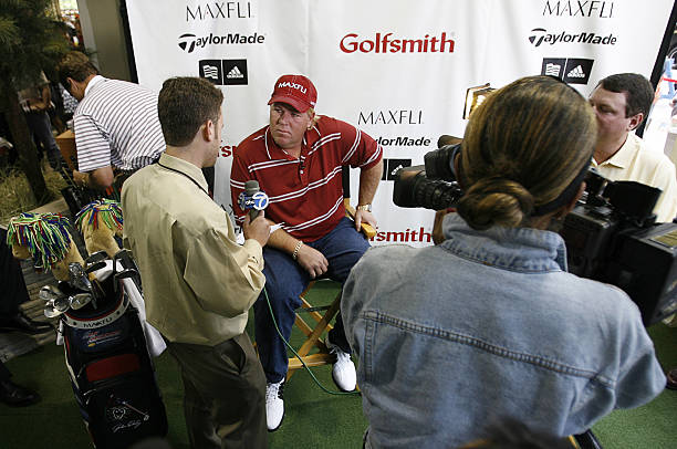 98367bb098b1 Golfer John Daly opens the first Golfsmith Store in Manhattan located at Lexington  Avenue and 54th