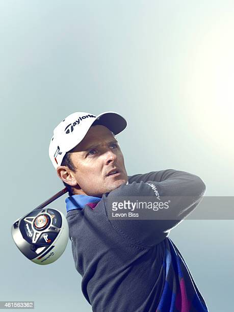 Golfer Justin Rose is photographed for GQ magazine on May 21 2013 in London England
