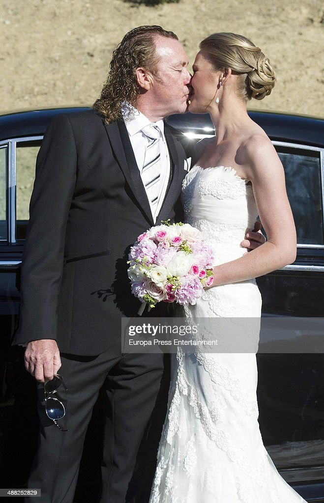 Golfer Miguel Angel Jimenez and Susanna Styblo Wedding In Torremolinos : News Photo