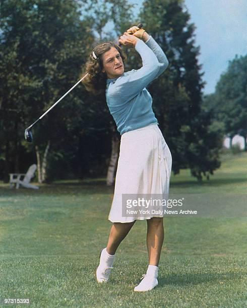 Golfer Mildred Didrikson Zaharias