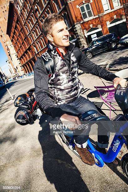 Golfer Morgan Hoffmann is photographed for Golf Digest Magazine on December 12 2013 in New York City