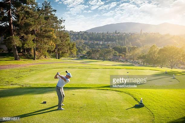 ゴルファーには、ティーボックス