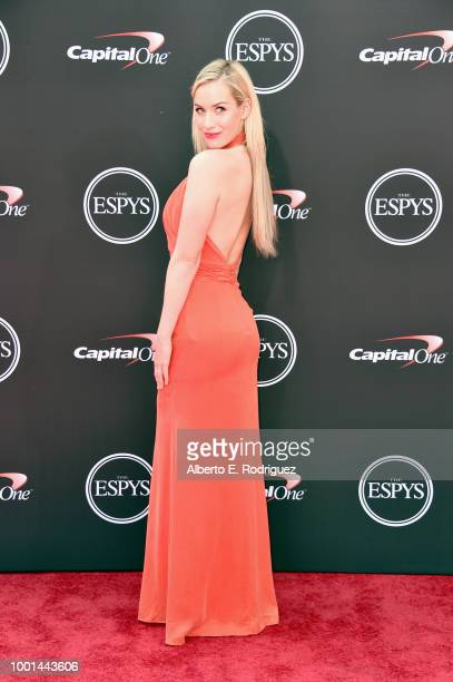 Golfer Paige Spiranac attends The 2018 ESPYS at Microsoft Theater on July 18 2018 in Los Angeles California
