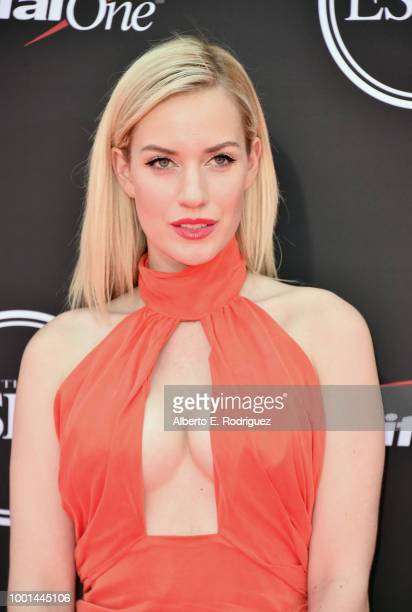 Golfer Paige Spiranac attends The 2018 ESPYS at Microsoft Theater on July 18, 2018 in Los Angeles, California.
