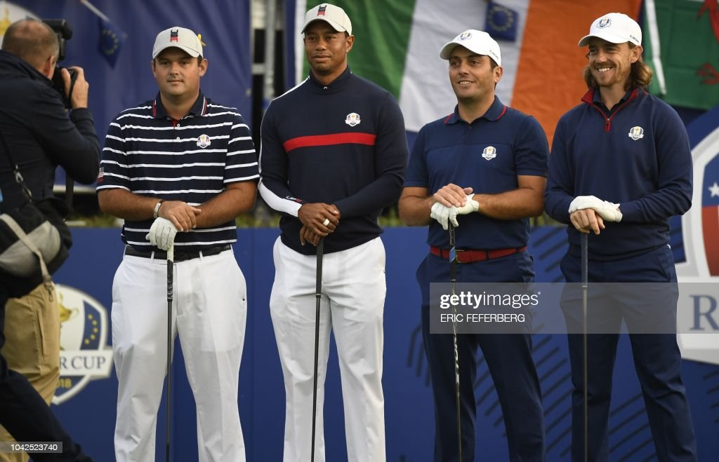 GOLF-FRA-RYDER-CUP-DAY ONE : News Photo