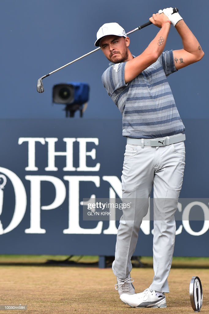 GOLF-OPEN-BRITAIN : News Photo