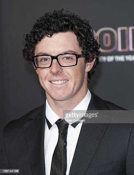 Golfer Rory Mcilroy Arriving For The Sports Personality Of The Year Awards 2011, At Mediacityuk, Salford, Manchester.