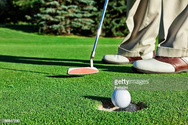 ゴルファーシンク、短い\;;パット練習コース
