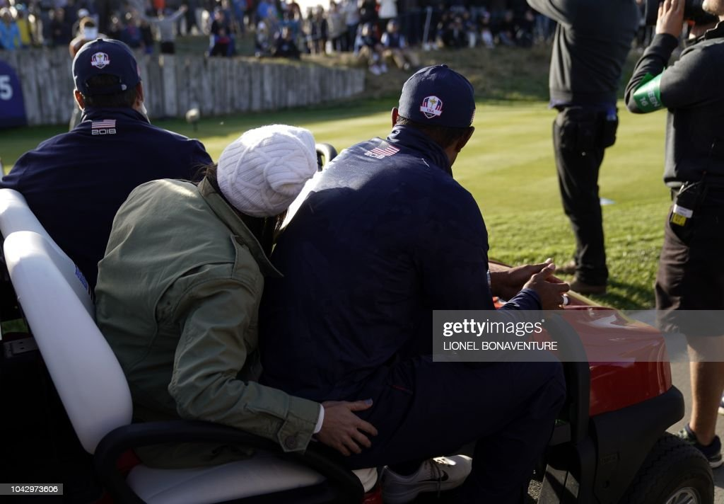 GOLF-FRA-RYDER-CUP-DAY TWO : News Photo
