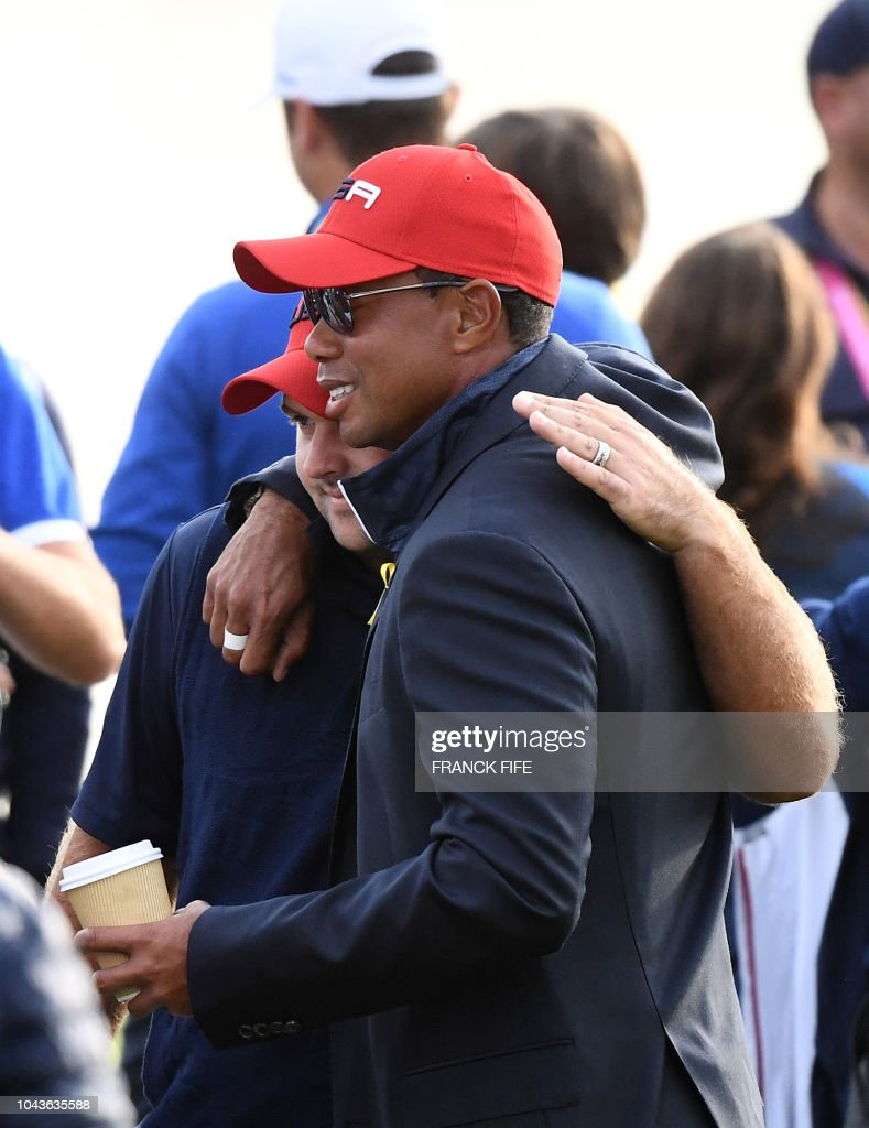 GOLF-FRA-RYDER-CUP-DAY THREE : News Photo