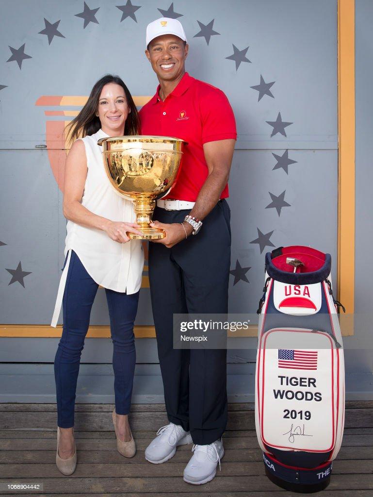 Tiger Woods Melbourne Media Call : News Photo
