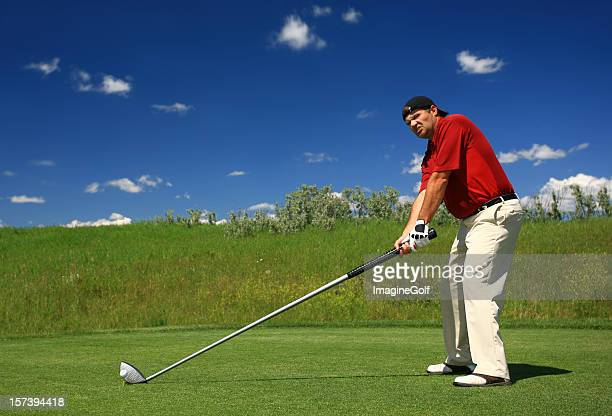 Golfer With an Oversize Driver