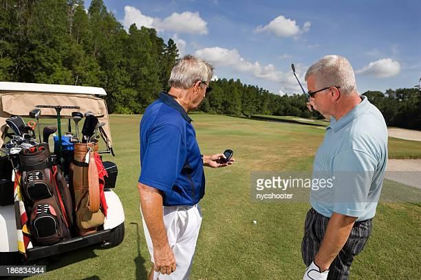 チェック GPS rangefinder ゴルファー