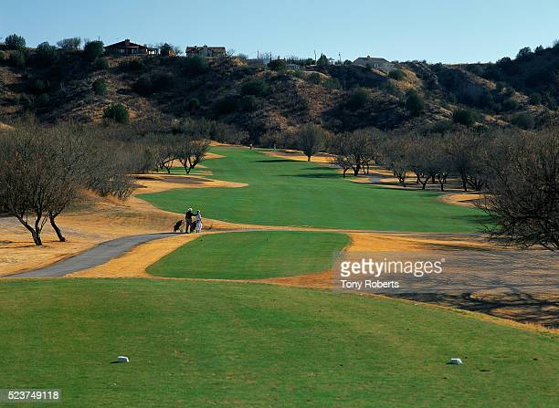 Golfers on 7th Hole at Rio Rico Resort