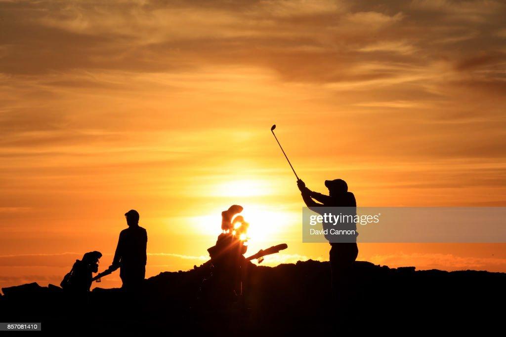 General Views of the Keilir Golf Club : News Photo