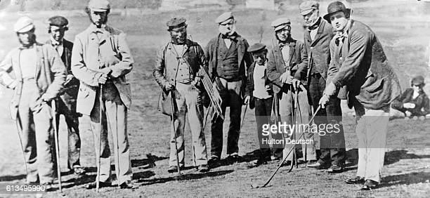 Golfers Playing at St Andrews Golf Club