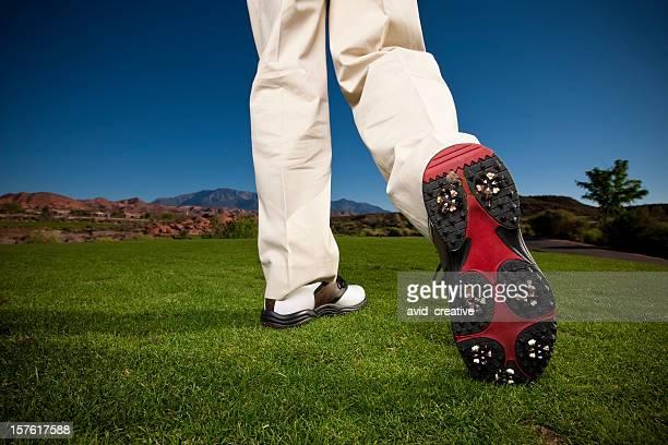 ゴルファーの靴