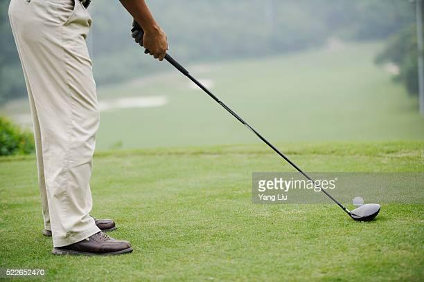 golfing in guangdong province - ゴルフクラブ ドライバー ストックフォトと画像