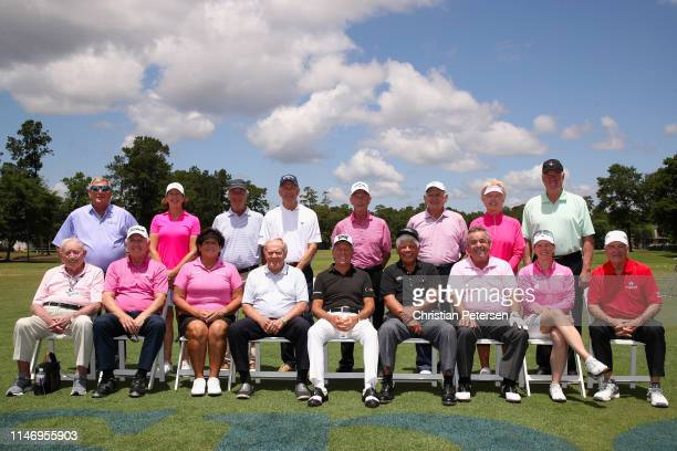 Golfing legends Don January Hale Irwin Nacy Lopez Jack Nicklaus Gary Player Lee Trevino Tony Jacklin Annika Sorenstam and Dave Stockton Fuzzy Zoeller...