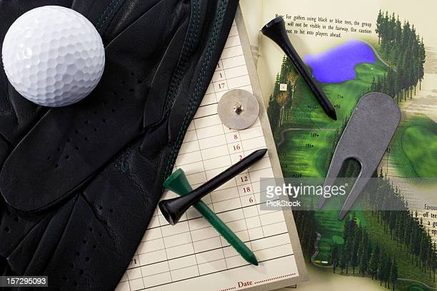 golfing tools - scoring stock pictures, royalty-free photos & images