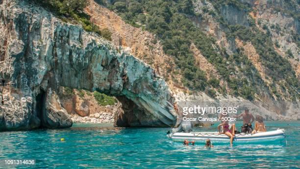 golfo di orosei - carvajal stock photos and pictures
