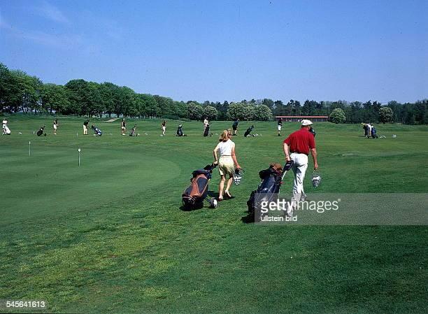 Golfplatz des `Sporting Club Berlin`bei Bad Saarow am Scharmützelsee 1997