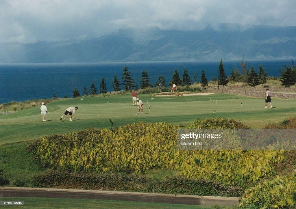 Kapaluha Golf Club Maui/ Golfplatz : News Photo