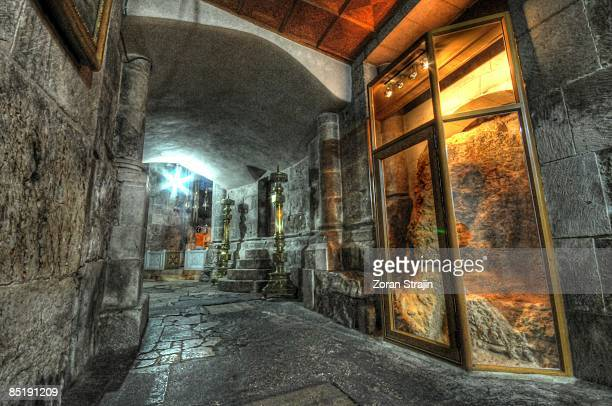 golgotha - jerusalem old city stock pictures, royalty-free photos & images