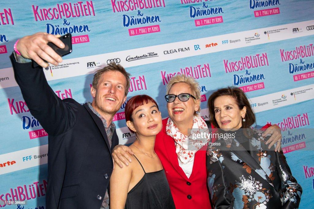 """DEU: """"Kirschblueten & Daemonen"""" Premiere In Munich"""