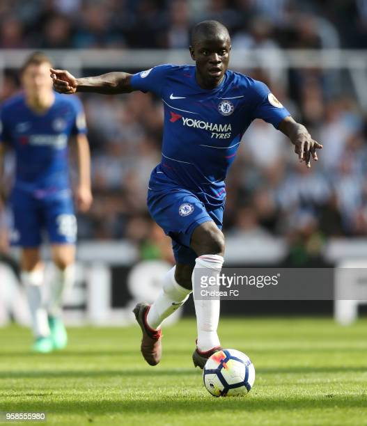 Golo Kanté of Chelsea during the Premier League match between Newcastle United and Chelsea at St James Park on May 13 2018 in Newcastle upon Tyne...