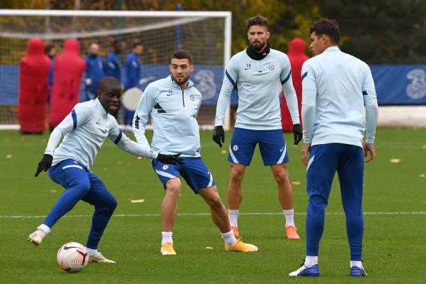 GBR: Chelsea Training Session