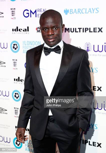 Golo Kante attends the London Football Awards on March 2 2017 in London United Kingdom