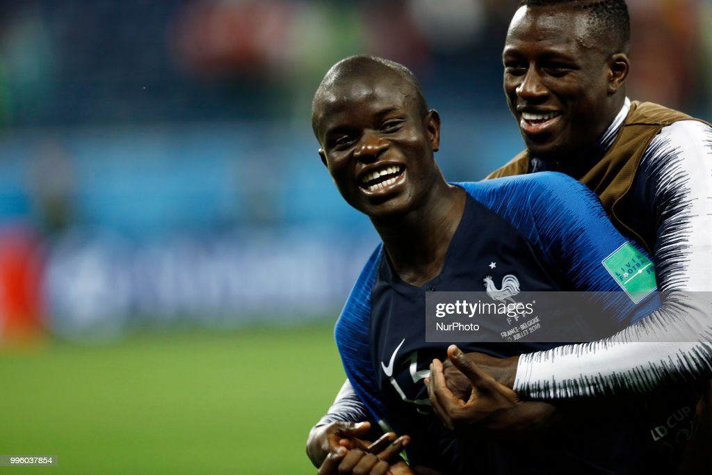 France v Belgium: Semi Final - 2018 FIFA World Cup Russia : News Photo
